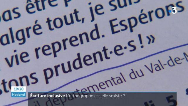 Écriture inclusive : l'orthographe et la grammaire sont-elles sexistes ?