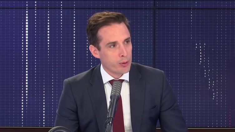 Jean-Baptiste Djebbari, secrétaire d'État aux transports, était l'invité de franceinfo jeudi 4 juin 2020. (FRANCEINFO / RADIO FRANCE)