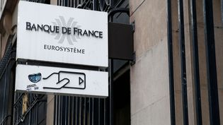 Enseigne de la Banque de France. Image d'illustration. (ALEXANDROS MICHAILIDIS / SOOC)