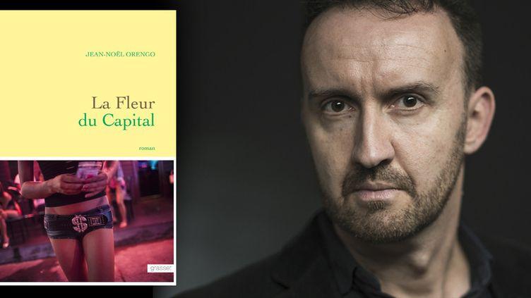 """Jean-Noël Orengo lauréat du prix de Flore 2015 avec """"La fleur du capital"""" (Grasset)  (J.-F. Paga/ Grasset)"""