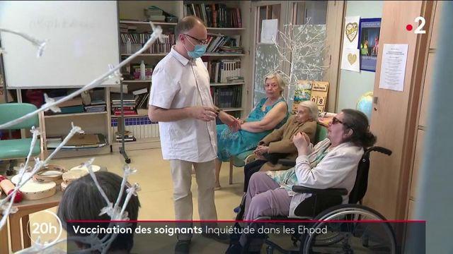Vaccin contre le Covid-19 : encore 300 000 soignants n'ont reçu aucune dose
