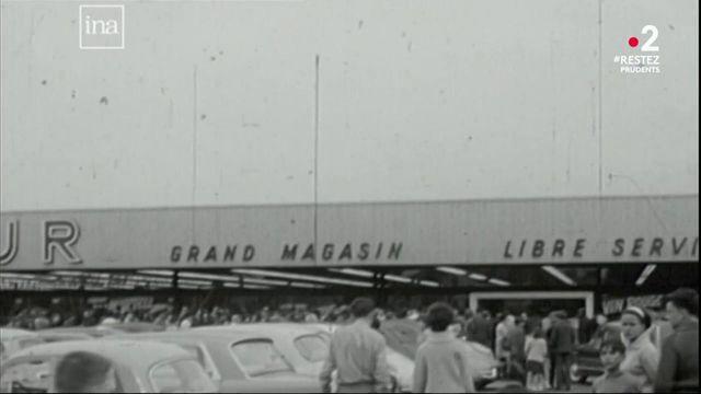 15 juin 1963 : le premier hypermarché ouvre ses portes