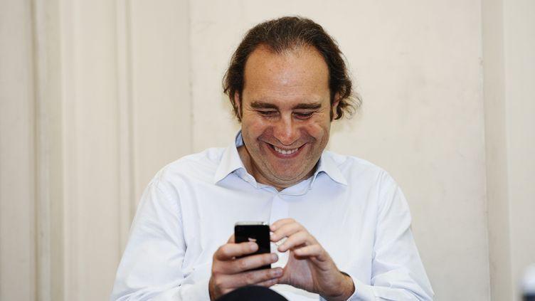 Xavier Niel, le fondateur de Free, en juin 2011 à Paris. (  MAXPPP)