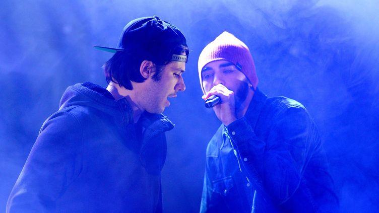 OrelSan et Gringe devraient reprendre leur carrière solo pour un temps  (BALTEL/SIPA)