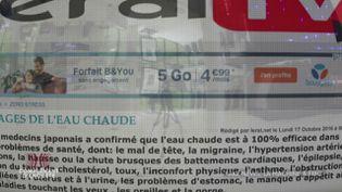 Financement des fake news : quand Bouygues Telecom s'affiche sur des sites de désinformation (COMPLÉMENT D'ENQUÊTE/FRANCE 2)