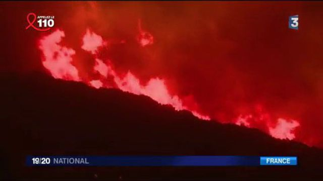 Corse-du-Sud : cinq pompiers blessés lors d'un incendie à Bastelica