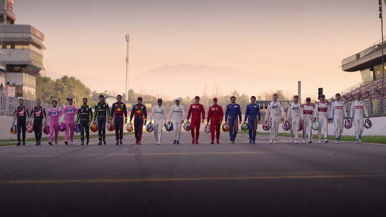"""Photo de la saison 3 de """"Drive to Survive"""" (""""Pilotes de leur destin""""), lancée en mars 2021 (NETFLIX)"""