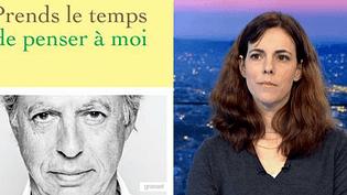 Gabrielle Maris-Victorin, la fille de Bernard Maris tué dans l'attentat de Charlie Hebdo, raconte dans un livre sa douleur et son deuil.  (France 3 / Culturebox)