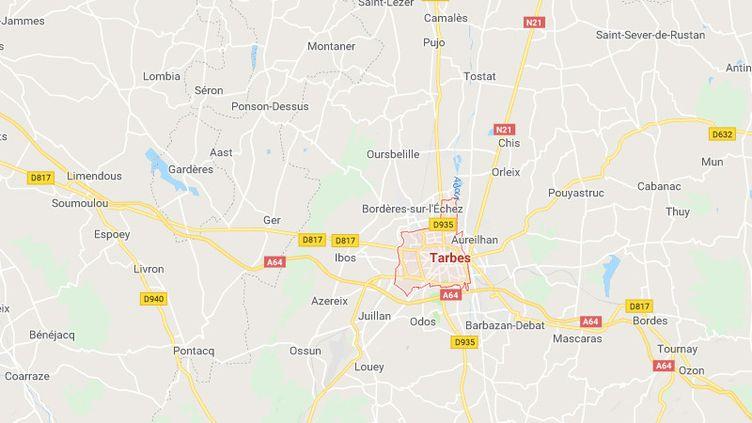 Tarbes (Hautes-Pyrénées) (GOOGLE MAPS)