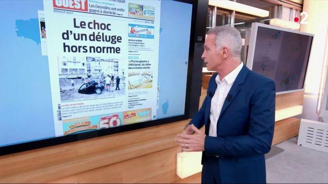 Kiosque à journaux : Tempête Alex, hommage à Victorine Dartois et le référendum en Nouvelle-Calédonie