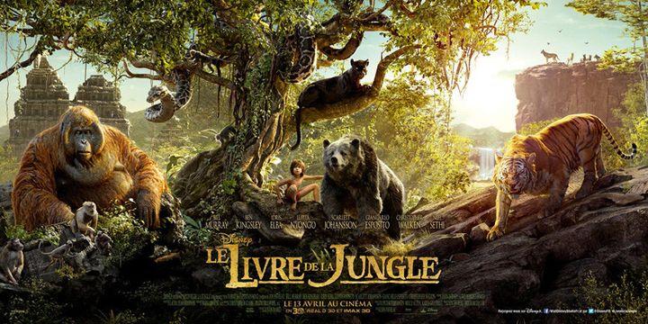 """L'affiche du """"Livre de la jungle"""" de Jon Favreau  (The Walt Disney Company France )"""