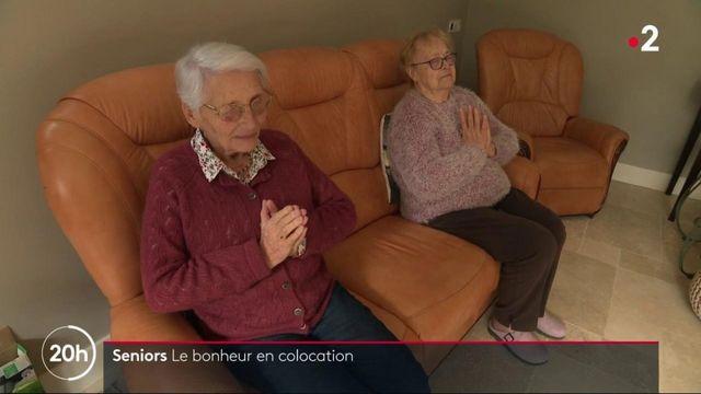 Logement : les seniors optent pour la colocation