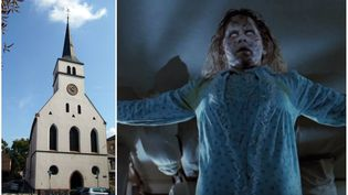 L'Exorciste, c​​hef-d'oeuvre de William Friedkin, sera projeté le 20 septembre dans l'église protestante Saint-Guillaume à Strasbourg, en version originale sous-titrée. (Jonathan M / FRANCE 3 GRAND EST)