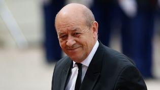 Le ministre de la Défense, Jean-Yves Le Drian, à l'Elysée, à Paris, le 16 juillet 2015. (YANN BOHAC / CITIZENSIDE.COM / AFP)