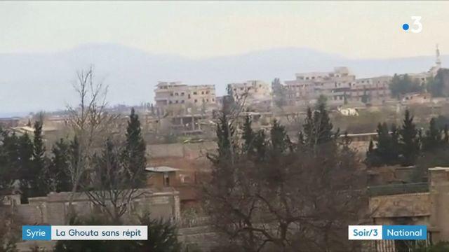 Syrie : 1000 civils ont été tués depuis le début des attaques sur la Ghouta