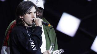 Le rappeur Orelsan aux 33e Victoires de la musique (2018)  (THOMAS SAMSON / AFP)