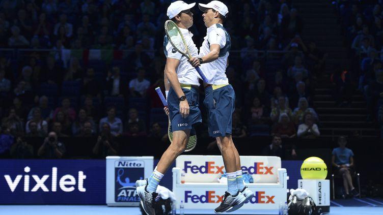 Les frères Bryan ont décidé de prendre leur retraite à l'âge de 42 ans. (GLYN KIRK / AFP)