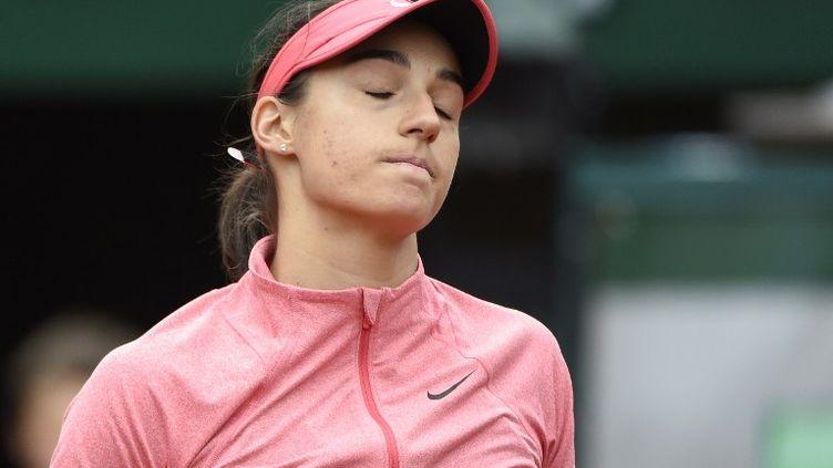 Caroline Garcia déçue (DOMINIQUE FAGET / AFP)