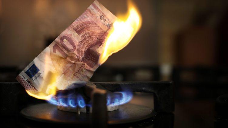 Début octobre, les tarifs réglementés du gaz appliqués par Engie ont connu une hausse de 12.6%.Un record historique. (LAURENT THEILLET / MAXPPP)