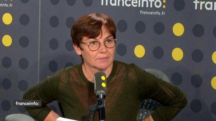La ministre des Outre-mer Annick Girardin était invité de franceinfo mardi 27 novembre. (FRANCEINFO / RADIOFRANCE)