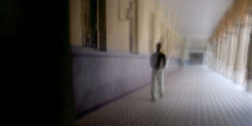 Dans un hôpital psychiatrique à Lyon le 4 décembre 2006 (AFP - Jean-Philippe Ksiazek)