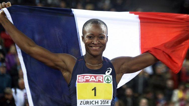Antoinette Nana Djimou conserve sa couronne en heptathlon !