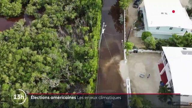 États-Unis : le réchauffement climatique au coeur de l'élection présidentielle