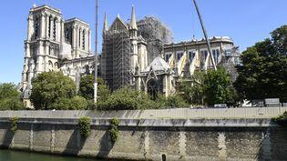 Notre-Dame-de-Paris photographiée le 9 juillet 2019. (BERTRAND GUAY / AFP)