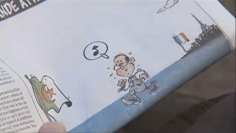 Capture d'écran du reportagede France 2 sur la visite à venir de François Hollande à Alger (Algérie), le 19 décembre 2012. ( FRANCE 2 / FRANCETV INFO)