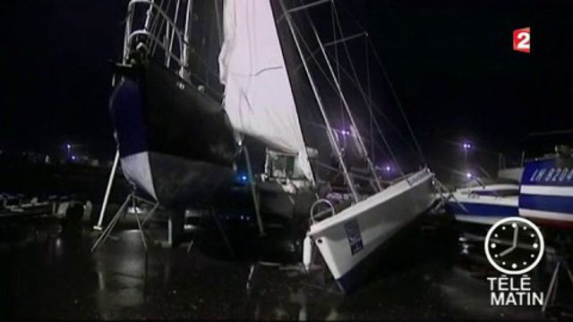 Normandie : la tempête a fait de nombreux dégâts