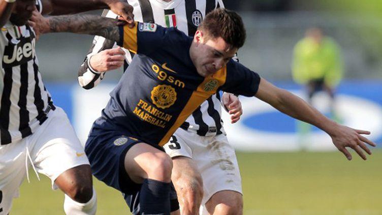 L'attaquant argentin Iturbe sous le maillot de Vérone
