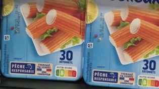 Les poissons transformés et autres produits de la mer vendus en grande surface sont dans le viseur de l'association 60 millions de consommateurs. (CAPTURE ECRAN FRANCE 2)