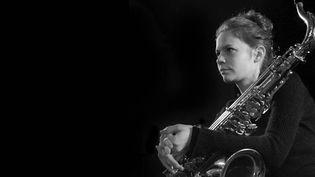 La saxophoniste Sophie Alour (Sophie Le Roux)