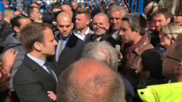 Whirpool : François Ruffin, candidat aux législatives de La France insoumise, interpelle Macron