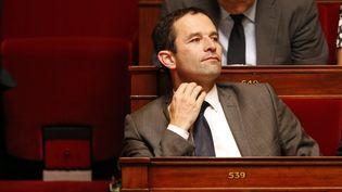 Benoît Hamon, le 9 juin 2015, à l'Assemblée nationale. (CHARLES PLATIAU / REUTERS)
