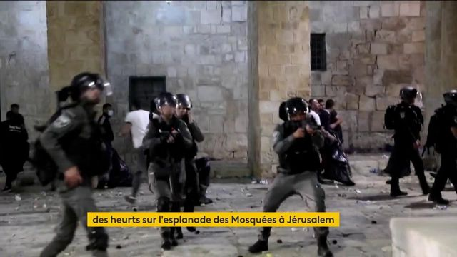 Jérusalem : de violents heurts entre manifestants et les forces de l'ordre dans la ville sainte