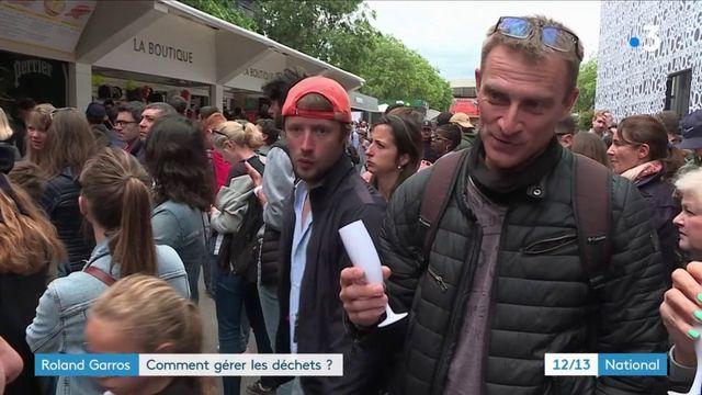 Roland-Garros : le tri des déchets, l'autre compétition