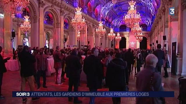 Attentats de Paris : les gardiens d'immeuble à l'honneur