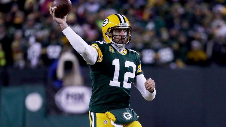 Le quarterback des packers, Aaron Rodgers, a encore été impérial (JONATHAN DANIEL / GETTY IMAGES NORTH AMERICA)