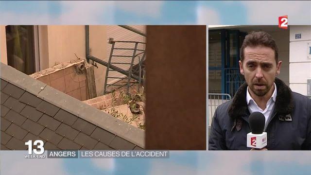 """Effondrement d'un balcon à Angers : """"défaut de construction ou d'utilisation ?"""""""