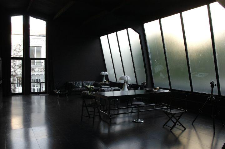 Fiammetta, fille de Frank Horvat, ouvre le studio de son père au public, ce dimanche. (© Frank Horvat Studio)