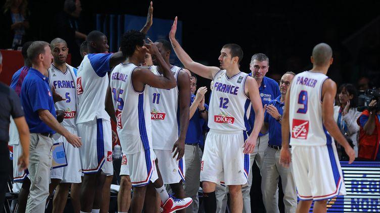 Les basketteurs français peuvent préparer tranquillement le Tournoi de Qualification olympique (PIB / MAXPPP)