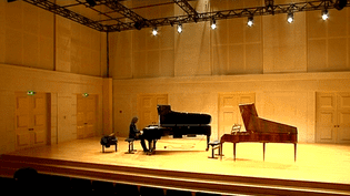Vanessa Wagner joue sur piano moderne et pianoforte  (France3 / Culturebox)