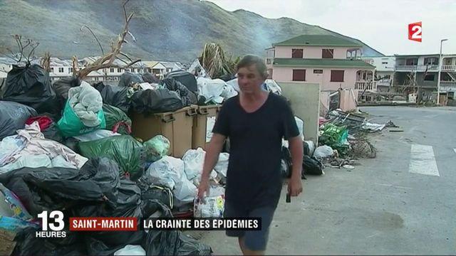 Saint-Martin : entre nettoyage et angoisse d'épidémies