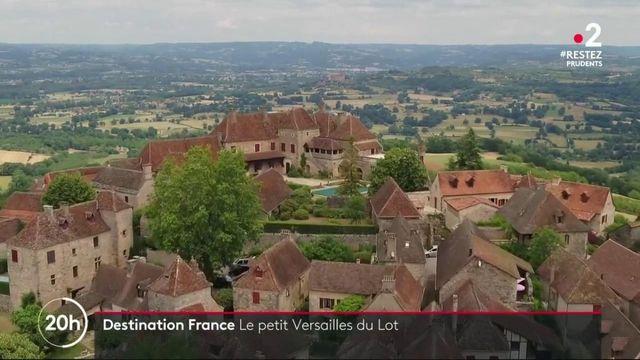 Destination France : un Versailles miniature dans le Lot