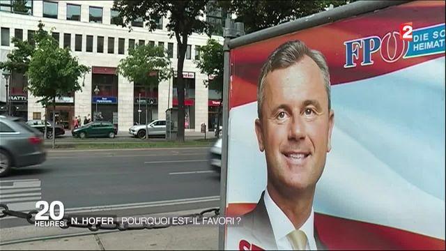 Autriche : Norbert Hofer, le leader d'extrême droite aux portes du pouvoir