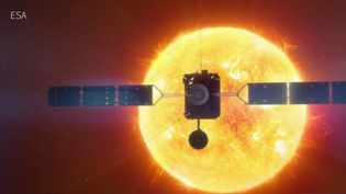 À l'heure du tout-numérique, les tempêtes solaires sont capables de perturber sérieusement les activités de l'homme sur terre et dans l'espace. Dans la nuit du 9 au 10 février, Solar Orbiter décollera de Cap Canaveral en Floride (États-Unis) pour s'approcher au plus près du soleil. (France 3)