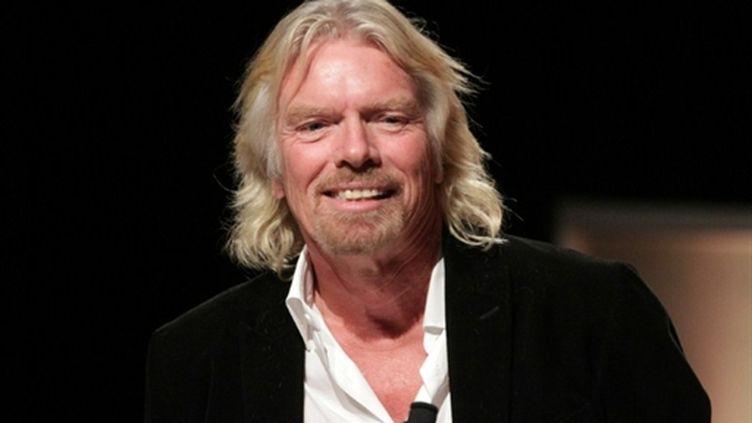 """Le PDG de Virgin, Richard Branson, lance un magazine exclusivement sur iPad : """"The Project"""" (AFP Frederick M. Brown / Getty Images)"""