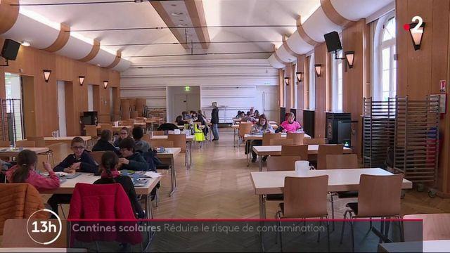 Cantines scolaires : à Lille, des détecteurs de CO2 pour réduire les risques de contamination au Covid-19