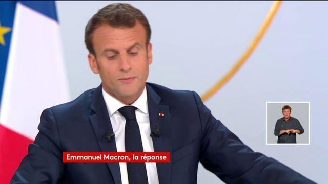 """Macron ne veut plus de fermetures """"ni d'hôpitaux ni d'écoles"""" d'ici 2022"""